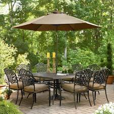 Patio Table Umbrella Walmart by Patio Amazing Walmart Patio Furniture Cushions Patio Dining Bench