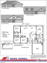 south pointe adams homes available floor plans