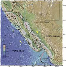 Map Of California And Mexico by Late Quaternary Faulting History Of The Carrizal And Related