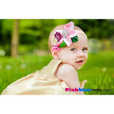 baby hair band baby hairband with colorful assortments brooch