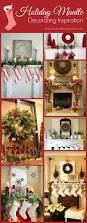 holiday mantle decorating ideas mantle garland holiday