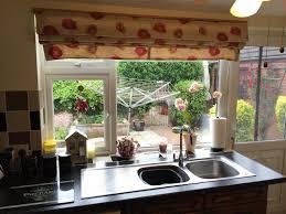 kitchen view roman blinds for kitchen windows interior design