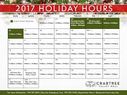 crabtree valley mall hours mall store hours hours