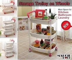 Bathroom Cart On Wheels by Bathroom Storage Drawers On Wheels Large Size Of Unfinished Oak
