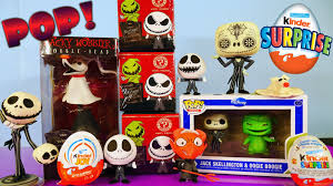 funko pop the nightmare before toys unboxing kinder