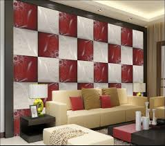 Red Livingroom by Compare Prices On Red White Wallpaper Online Shopping Buy Low