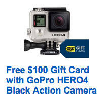 gopro black friday deals gopro hero4 black 4k offer tops best buy cyber monday 2015 deals