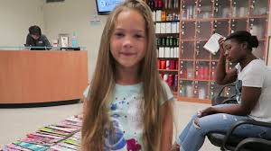 savannah u0027s first hair cut and wigs for kids donation youtube