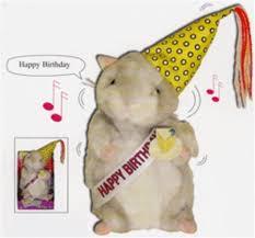 happy birthday singing happy birthday boy singing hamster toys