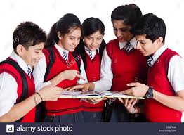 books for high school graduates indian school students book study stock photo 78358781 alamy