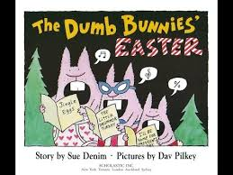 easter bunny books the dumb bunnies easter by dav pilkey annii s storytime
