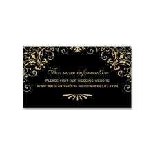 black and gold wedding invitations deco black gold wedding website cards luxury wedding invites