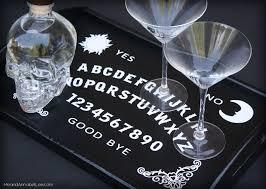 Ouija Board Coffee Table by Diy Ouija Board Serving Tray Cricut Tutorial Gothic
