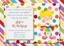 rainbow birthday invitation butterfly cupcake digital file