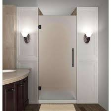 34 Shower Door Frosted Shower Doors Showers The Home Depot