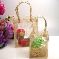 wedding favor bag sinamay favor bags large 10 pcs eco friendly wedding favors