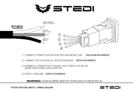 stedi blog push button u0026 carling type rocker switch wiring