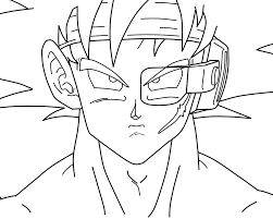dibujos para colorear dragon ball bebo pandco