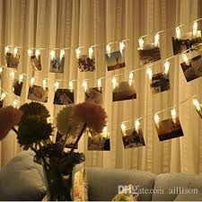 wall christmas lights decorations 30 led photo clips string lights christmas lights starry light wall