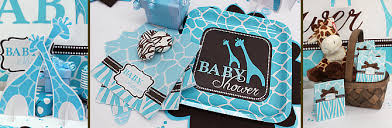 giraffe baby shower ideas giraffe baby shower plates wally designs