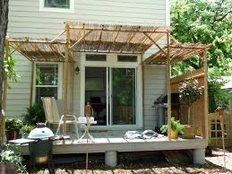 diy bamboo pergola best e2 80 93 home exterior design image of