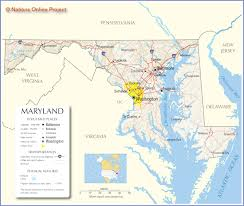 Baltimore Usa Map by Maryland Map Travel Across The Usa