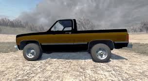 silverado 1500 1986 for beamng drive