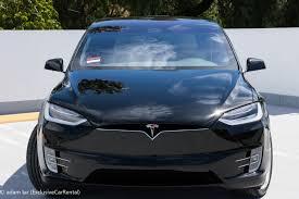 lexus van rental telsa model x rental exclusive car rental