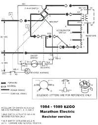 wiring diagram for ez go golf cart and go gas golf cart wiring
