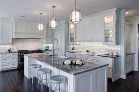 Classic White Kitchen Designs White Tile Backsplash Design Ideas