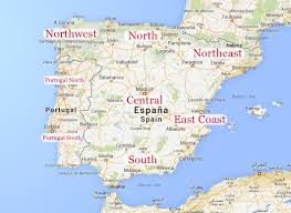 Spain Regions Map by Experience Spain U0027s East Coast Casa Abril