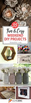 easy home decor projects 35 best weekend diy home decor projects ideas and designs for 2018