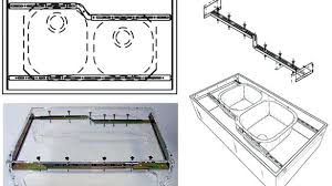 can you replace an undermount sink installing undermount sink kitchen sink installation quality