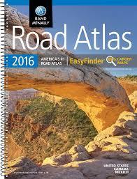 Where To Buy Maps Rand Mcnally 2016 Easyfinder Midsize Road Atlas Rand Mcnally