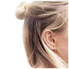 hoop cartilage piercing best 25 cartilage hoop ideas on cartilage piercing