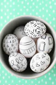 Easter Eggs Decorations Pinterest by Sharpie Easter Eggs 19 Of The Coolest No Mess Decorating Ideas