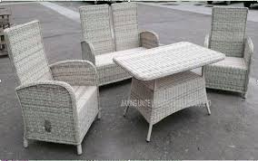 Garden Patio Table Garden Patio Table And Chairs Wicker Pe Rattan Outside Furniture Set