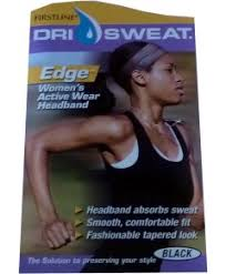 dri sweat headband firstline manufacturing wav enforcer dri sweat edge womens