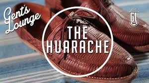 what is a huarache our new favorite sandal gent u0027s lounge youtube