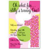 1st birthday invitations girls first birthday party invitations