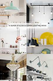 How To Do Interior Design How To Do Kitchen Lighting Now A Style Guide To Six On Trend