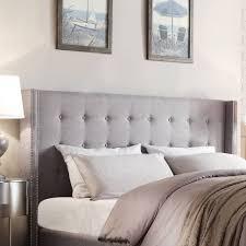 White Headboard King Bed White Headboard Linen Headboard Grey Headboard
