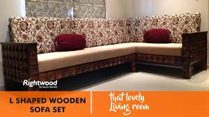 Living Room L Sets Sofa Set Designs L Shaped Wooden New Design By Rightwood