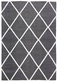 Black And White Outdoor Rug Coastal Indoor Outdoor Rug Black White Floorsome