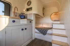 Conversion Van Floor Plans Brilliant Camper Van Conversion Uses Space Saving Boat Design