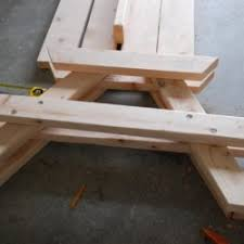 outcome dining room folding picnic table bench plans 3 wood hampedia
