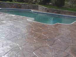decorating concrete stamping and driveways for commercial