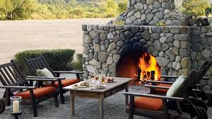 Backyard Ideas For Entertaining Landscaping Ideas With Stone Sunset