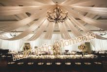 Chiffon Ceiling Draping Compare Prices On Wedding Ceiling Drapes Online Shopping Buy Low