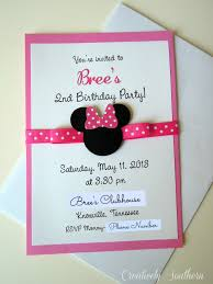 mickey mouse 2nd birthday invitations minnie mouse birthday and paper mache minnie mouse birthdays